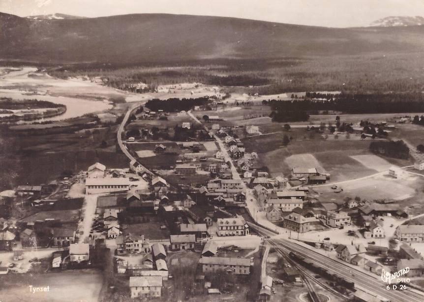 tynset-stasjon-1950
